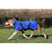 Lilcracka Dual Layer Chamois Cooling Dog Coat