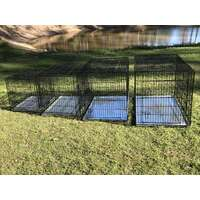 Metal Collapsible Pet/Dog/Cat Crate/Cage 24""