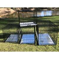 Metal Collapsible Pet/Dog/Cat Crate/Cage 42""