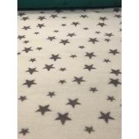 Vet/Dry Bed *Non-Backed* Cream Stars
