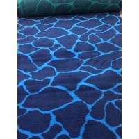 Vet/Dry Bed *Rubberback* Blue Giraffe **Postage Included**