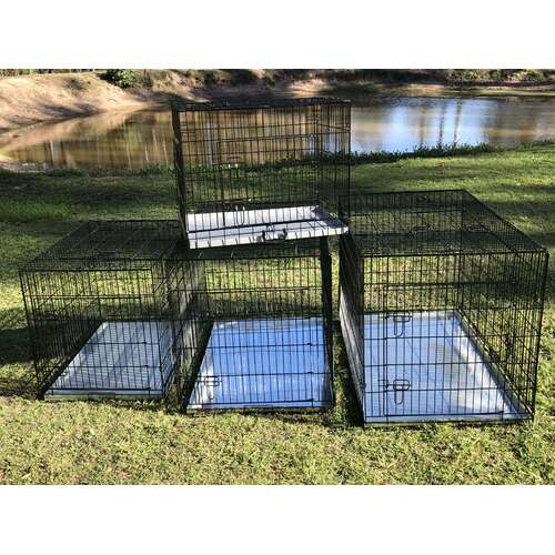 Metal Collapsible Pet/Dog/Cat Crate/Cage 48""
